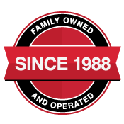 Family Owned & Operated Since 1988